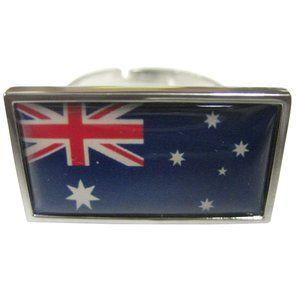 Australia Flag Fashion Ring